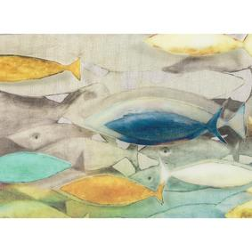 COLORFUL FISH PANO 60X80CM