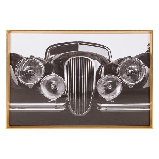 VINTAGE CAR II PANO 60X90CM