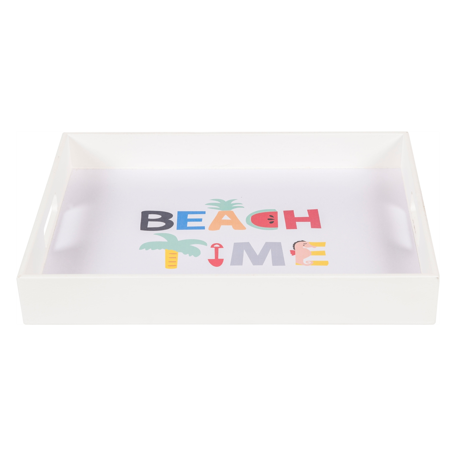 BEACH TIME TEPSI 38X28X6 CM
