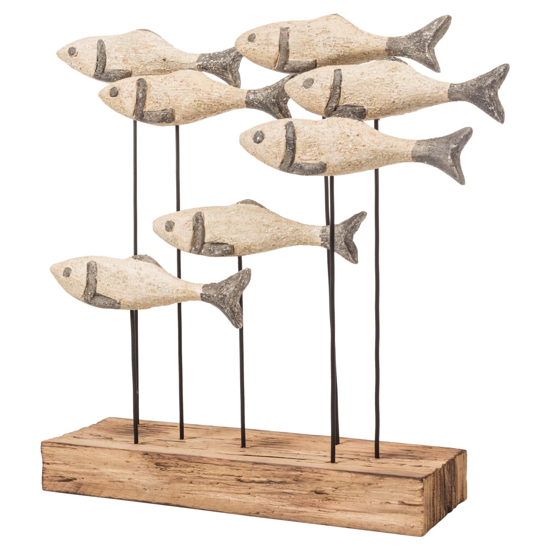WOODEN FISH BİBLO 31X28CM