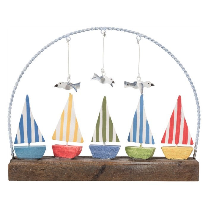 COLORFUL SAILS BİBLO 20X4X17CM