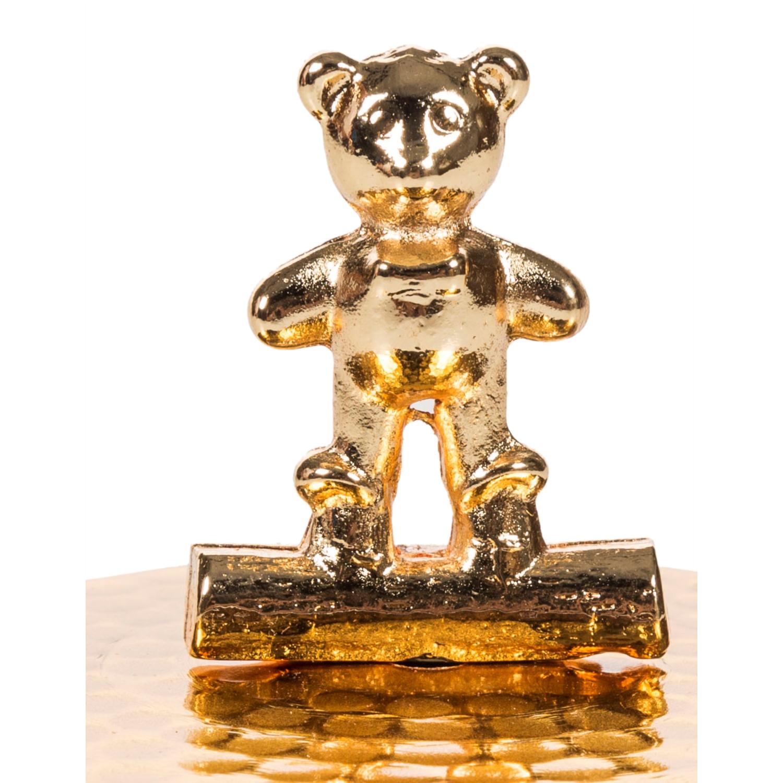 GOLD TEDDY BEAR TAKI KUTUSU