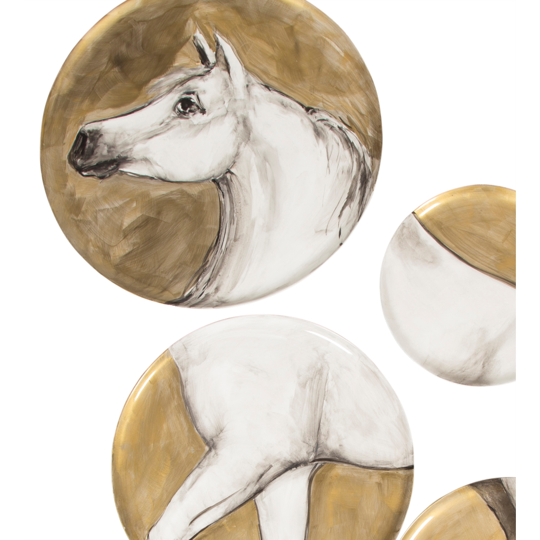 HORSE 6 PARÇA PANO