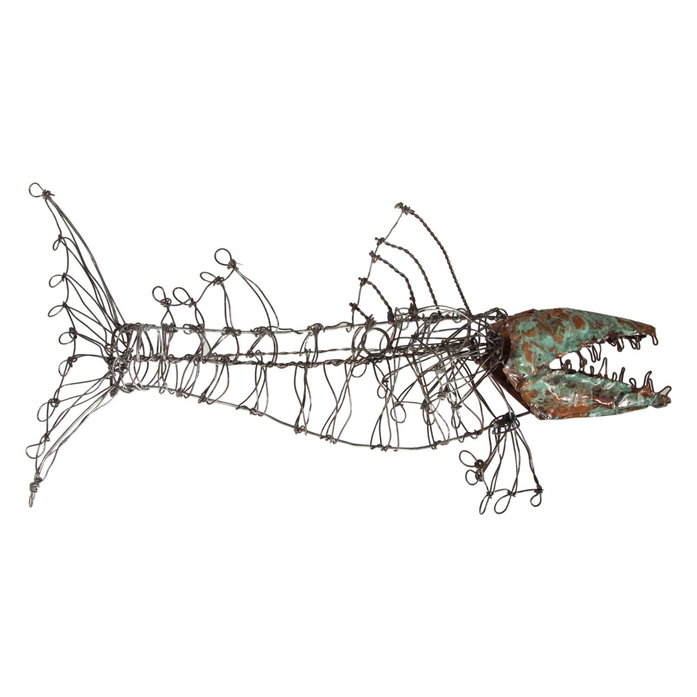 FISH PANO I 69X17X25CM