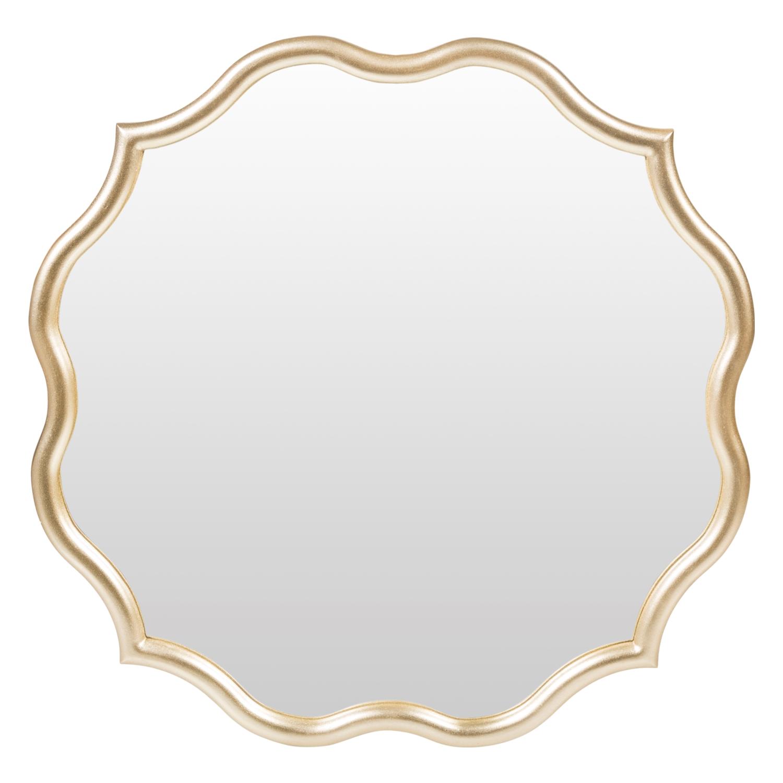 MOIRE DUVAR AYNASI 60X60CM GOLD