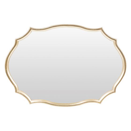 MOIRE DUVAR AYNASI 63X42CM GOLD