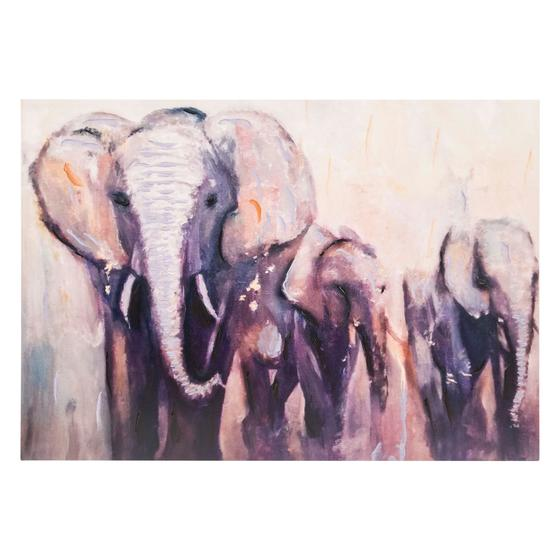 ELEPHANTS YAĞLI BOYA TABLO 70X100 CM