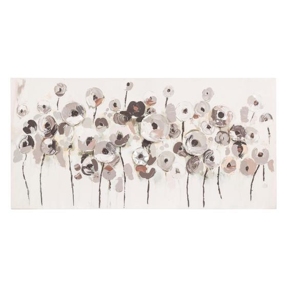FLOWER FIELD YAĞLIBOYA TABLO 60X120CM