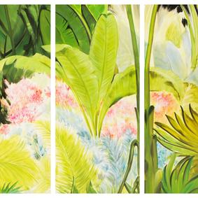 JUNGLE 4LÜ PANO 120X40CM/PCS