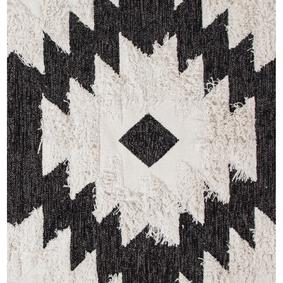 PALMIRA HALI SIYAH-BEYAZ 120x180
