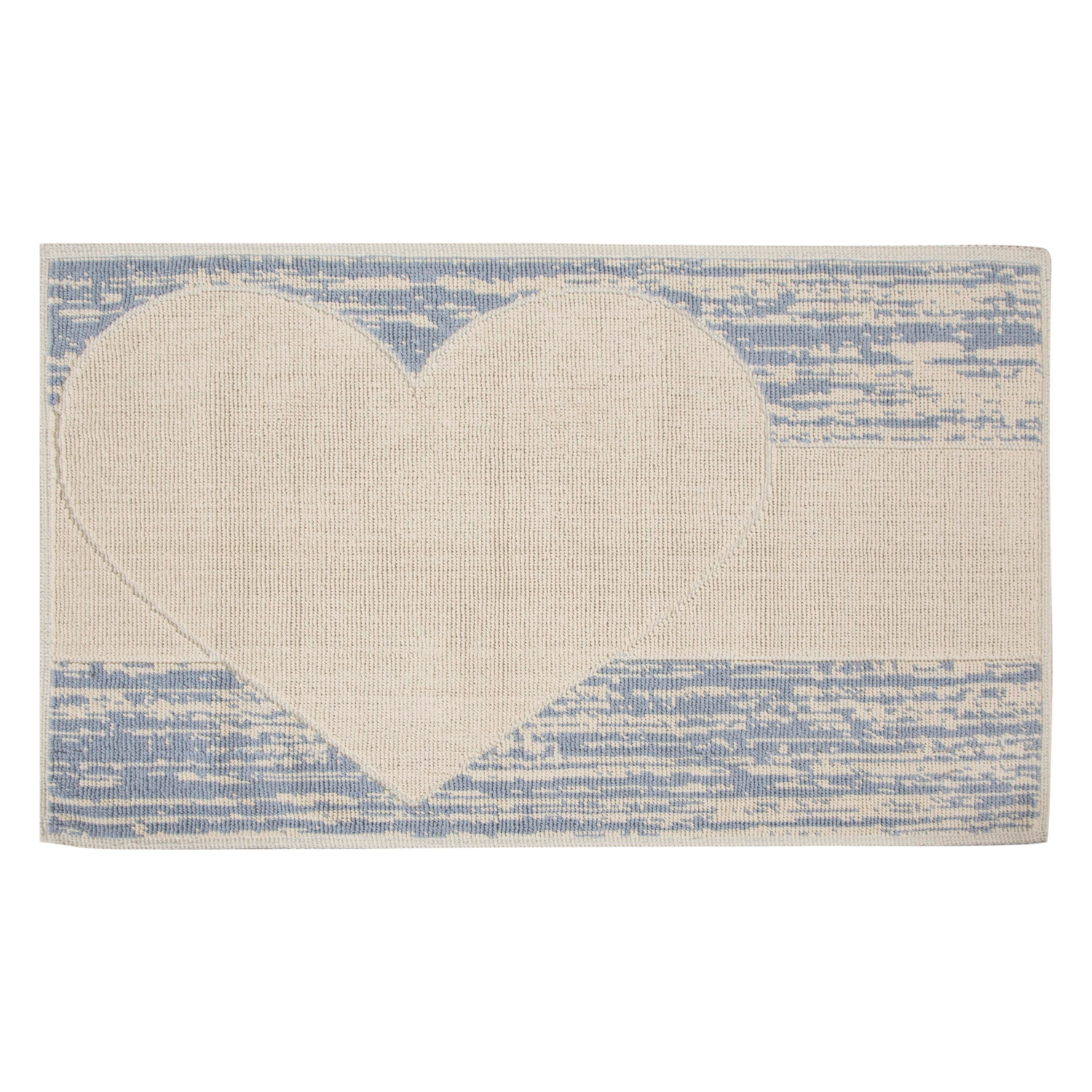 HEART  BLUE 60*100 PASPAS