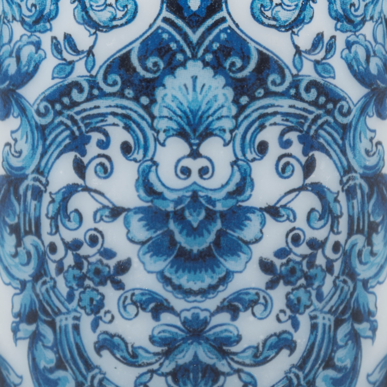 BLUE QUEEN LED IŞIKLI MUM  8,5X8,5 CM