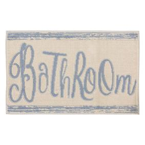BATHROOM BLUE 60X100 CM PASPAS