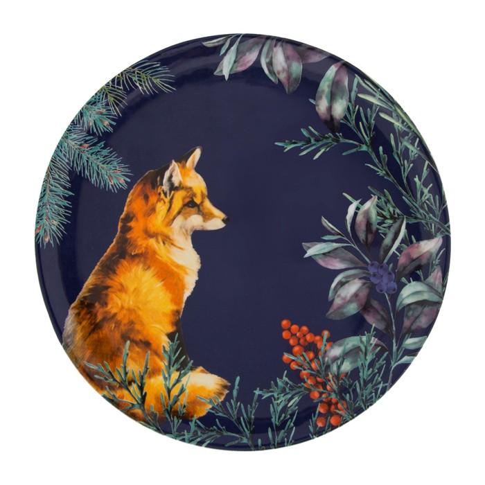 FOREST FOX PASTA TABAĞI 21 CM