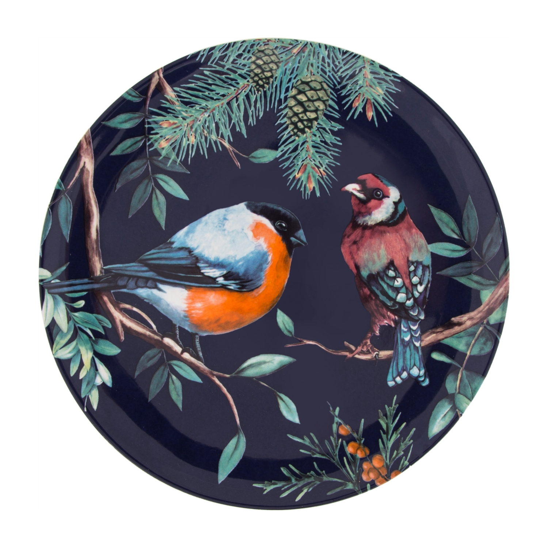 FOREST BIRD PASTA TABAĞI - 21 CM