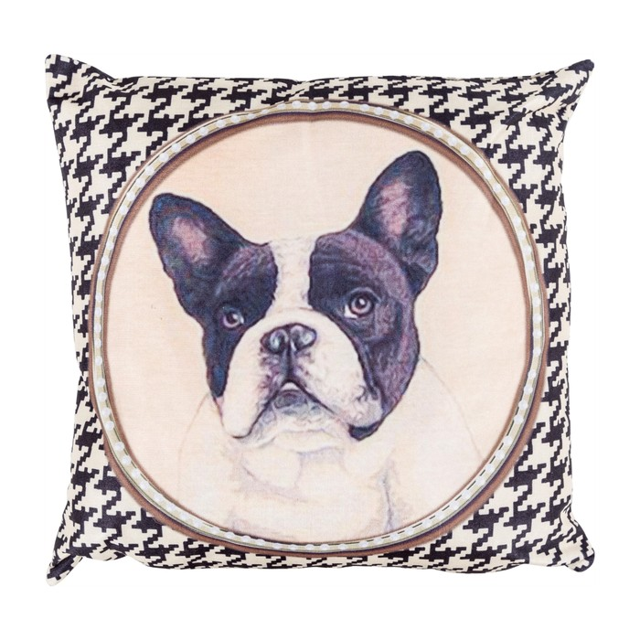 BOSTON TERRIER KIRLENT 45x45