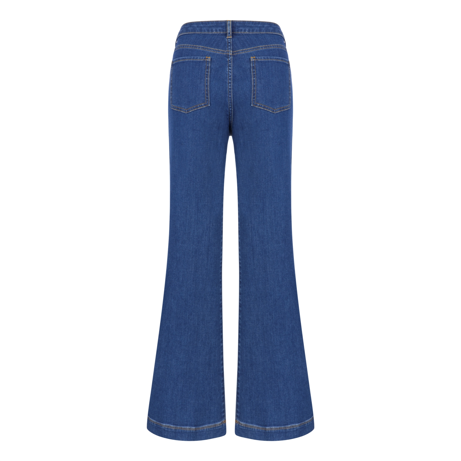 FLARE DENIM PANTOLON