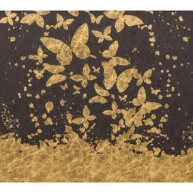 GOLD BUTTERFLY PANO 65X95CM