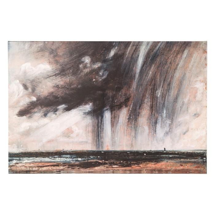 RAIN CLOUD YAĞLI BOYA TABLO 80X120 CM