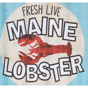 LOBSTER PANO 46X29 CM