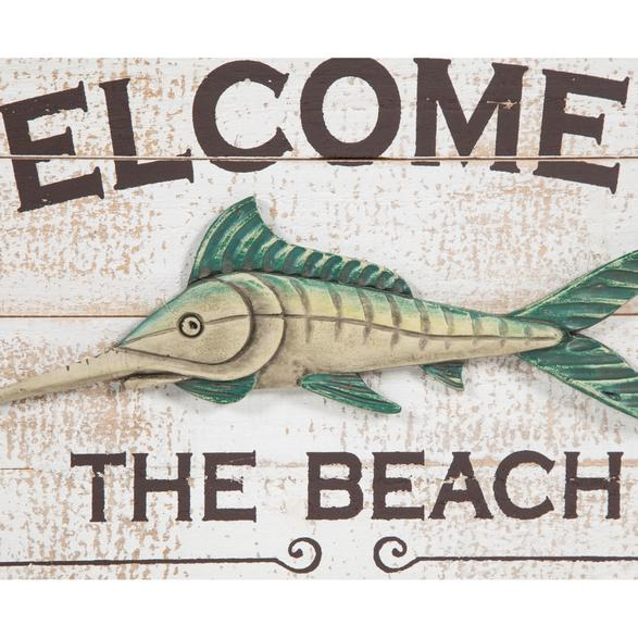 THE BEACH PANO 54X36 CM