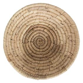 OVAL NATURAL HASIR SEPET SMALL 20X6 CM
