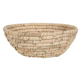 OVAL NATURAL HASIR SEPET LARGE 28X12CM