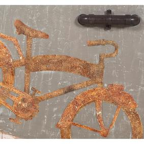 BICYCLE PANO 130X80X2 CM