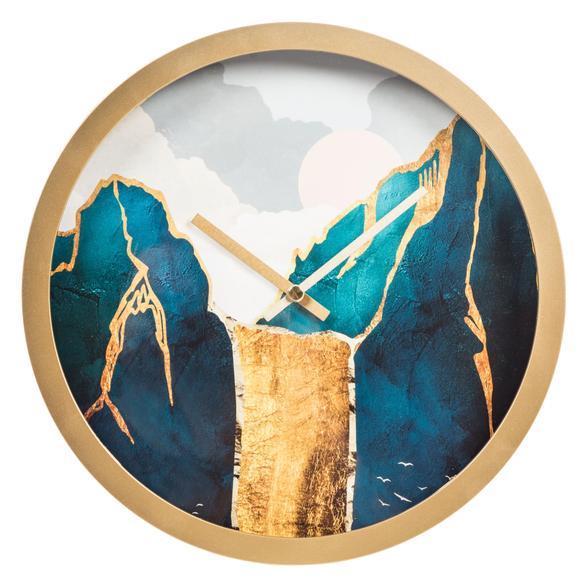 GOLDEN MOUNTAINS DUVAR SAATİ 30 CM