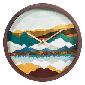 COLORFUL MOUNTAINS DUVAR SAATI 30 CM